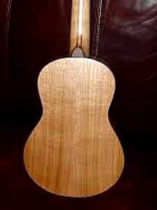 Port Orford Cedar top with Butternut B&S Tenor Ukulele by Steve Bonner stevekathleen@verizon.net  USA