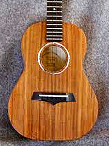 Myrtlewood & Redwood Tenor Ukulele by Ernest Theisen www.etheisen.com  USA