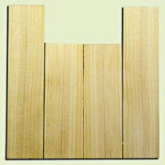 """CDUS11028 - Port Orford Cedar Concert size Ukulele Back and Side Set, Fine Grain Salvaged Old Growth, Excellent Stiffness and Tap Tone, Alternative Luthier Tonewood.  2 panels each .19"""" x 4.25"""" x 12.5"""" and 2 panels each .19"""" x 4"""" x 17"""" S1S"""