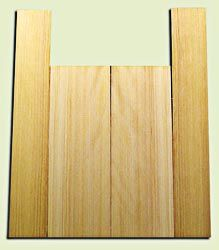 """CDUS11031 - Port Orford Cedar Baritone size Ukulele Back and Side Set, Medium to Fine Grain Salvaged Old Growth, Excellent Stiffness and Tap Tone, Alternative Luthier Tonewood.  2 panels each .20"""" x 5.75"""" x 16"""" and 2 panels each .20"""" x 3.5"""" x 22"""" S1S"""