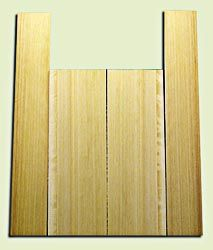 """CDUS11036 - Port Orford Cedar Baritone size Ukulele Back and Side Set, Fine Grain Salvaged Old Growth, Excellent Stiffness and Tap Tone, Alternative Luthier Tonewood.  2 panels each .20"""" x 5.75"""" x 16"""" and 2 panels each .20"""" x 3.5"""" x 22"""" S1S"""