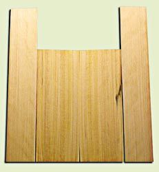 """CDUS11059 - Port Orford Cedar Baritone size Ukulele Back and Side Set, Medium to Fine Grain Salvaged Old Growth, Excellent Stiffness and Tap Tone, Select Luthier Tonewood.  2 panels each .20"""" x 6"""" x 16"""" and 2 panels each .20"""" x 4"""" x 22"""" S1S"""