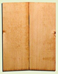 """SSUSB11328 - Sitka Spruce Concert size Ukulele Soundboard Set, Aged over 30 years, Excellent Medullary Rays, 1/4 Sawn Fine Grain Old Growth, Stiff, Excellent Tap Tone, Traditional Luthier Wood.  2 panels each .18"""" x 5"""" x 13"""" S1S"""