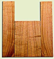 "BNUS11560 - Curly Butternut Concert Ukulele Back and Side Set, Medium Figure, Excellent Color, Amazing Resonance and Bass Response, Scarce Ukulele Tonewood.  2 panels each  .18"" x 4.25"" x 12"" and 2 panels each .18"" x 4"" x 18""  S1S"