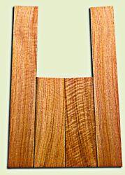 "BNUS11566 - Curly Butternut Concert Ukulele Back and Side Set, Medium Figure, Excellent Color, Amazing Resonance and Bass Response, Scarce Ukulele Tonewood.  2 panels each  .18"" x 4.25"" x 12"" and 2 panels each .18"" x 3.25"" x 21.5""  S1S"