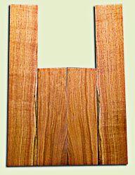 "BNUS11590 - Curly Butternut Concert size Ukulele Back and Side Set, Medium Figure, Excellent Color, Amazing Resonance and Bass Response, Unique Ukulele Tonewood.  2 panels each  .18"" x 4"" x 13"" and 2 panels each .18"" x 3.75"" x 22""  S1S"
