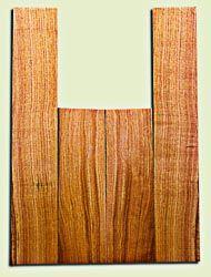 "BNUS11591 - Curly Butternut Concert size Ukulele Back and Side Set, Medium Figure, Excellent Color, Amazing Resonance and Bass Response, Unique Ukulele Tonewood.  2 panels each  .18"" x 4"" x 13"" and 2 panels each .18"" x 3.75"" x 22""  S1S"