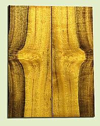 """MYUSB16054 - Myrtlewood, Baritone Size Ukulele Soundboard Set, Salvaged Old Growth, Good Color& Curl, Amazing Ukulele Tonewood, 2 panels each 0.18"""" x 6"""" X 15.75"""", S1S"""