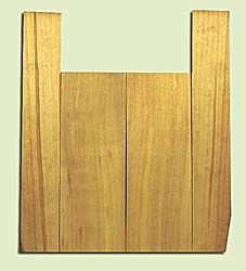 """SSUS16300 - Sitka Spruce, Baritone Ukulele Back & Side Set, Salvaged Old Growth, Excellent Color, OutstandingUkulele Tonewood, 2 panels each 0.18"""" x 6"""" X 16"""", S1S, and 2 panels each 0.18"""" x 3.5"""" X 21.5"""", S2S"""
