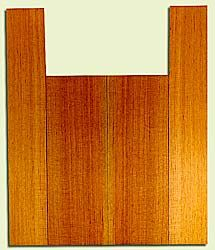 "RCUS31022 - Western Redcedar, Baritone Ukulele Back & Side Set, Med. to Fine Grain Salvaged Old Growth, Excellent Color, Great Ukulele Wood, 2 panels each 0.18"" x 5.625"" X 16"", S2S, and 2 panels each 0.18"" x 3.5"" X 22"", S2S"