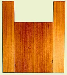 "RCUS31027 - Western Redcedar, Tenor Ukulele Back & Side Set, Med. to Fine Grain Salvaged Old Growth, Excellent Color, Great Ukulele Wood, 2 panels each 0.18"" x 5.875"" X 15.75"", S2S, and 2 panels each 0.18"" x 3.5"" X 22"", S2S"