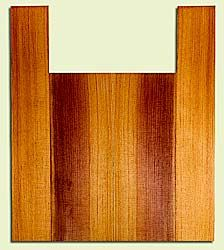 "RCUS31028 - Western Redcedar, Tenor Ukulele Back & Side Set, Med. to Fine Grain Salvaged Old Growth, Excellent Color, Great Ukulele Wood, 2 panels each 0.18"" x 5.75"" X 16"", S2S, and 2 panels each 0.18"" x 3.5"" X 22"", S2S"