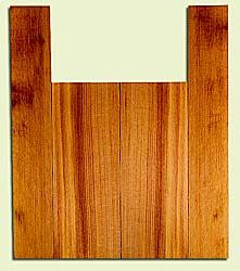 "RCUS31030 - Western Redcedar, Tenor Ukulele Back & Side Set, Med. to Fine Grain Salvaged Old Growth, Excellent Color, Great Ukulele Wood, 2 panels each 0.18"" x 5.75"" X 15.5"", S2S, and 2 panels each 0.18"" x 3.5"" X 22"", S2S"