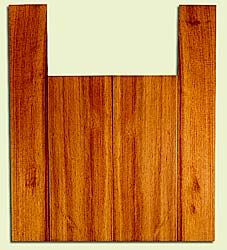 "RCUS31041 - Western Redcedar, Tenor Ukulele Back & Side Set, Med. to Fine Grain Salvaged Old Growth, Excellent Color, Great Ukulele Wood, 2 panels each 0.18"" x 5.875"" X 15.5"", S2S, and 2 panels each 0.18"" x 3.5"" X 22"", S2S"