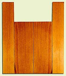 "RCUS31047 - Western Redcedar, Tenor Ukulele Back & Side Set, Med. to Fine Grain Salvaged Old Growth, Excellent Color, Great Ukulele Wood, 2 panels each 0.18"" x 5.75"" X 16"", S2S, and 2 panels each 0.18"" x 3.5"" X 22"", S2S"