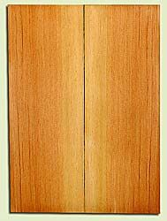 "DFUSB32272 - Douglas Fir, Tenor or Baritone Ukulele Soundboard Set, Med. to Fine Grain, Excellent Color, Highly ResonantUkulele Wood, 2 panels each 0.17"" x 5.75"" X 16"", S1S"