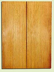 "DFUSB32279 - Douglas Fir, Tenor or Baritone Ukulele Soundboard Set, Med. to Fine Grain, Excellent Color, Highly ResonantUkulele Wood, 2 panels each 0.17"" x 5.75"" X 16"", S1S"