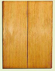 "DFUSB32280 - Douglas Fir, Tenor or Baritone Ukulele Soundboard Set, Med. to Fine Grain, Excellent Color, Highly ResonantUkulele Wood, 2 panels each 0.17"" x 5.75"" X 16"", S1S"