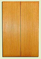 "DFUSB32293 - Douglas Fir, Tenor or Baritone Ukulele Soundboard Set, Med. to Fine Grain, Excellent Color, Highly ResonantUkulele Wood, 2 panels each 0.17"" x 5.375"" X 16"", S1S"