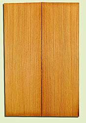 "DFUSB32300 - Douglas Fir, Tenor or Baritone Ukulele Soundboard Set, Med. to Fine Grain, Excellent Color, Highly ResonantUkulele Wood, 2 panels each 0.17"" x 5.375"" X 16"", S1S"