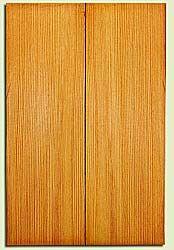 "DFUSB32301 - Douglas Fir, Tenor or Baritone Ukulele Soundboard Set, Med. to Fine Grain, Excellent Color, Highly ResonantUkulele Wood, 2 panels each 0.17"" x 5.375"" X 16"", S1S"