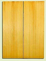 "YCUSB32332 - Alaska Yellow Cedar, Tenor or Baritone Ukulele Soundboard, Med. to Fine Grain, Excellent Color, Highly ResonantUkulele Wood, 2 panels each 0.17"" x 6"" X 16"", S1S"