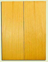 "YCUSB32333 - Alaska Yellow Cedar, Tenor or Baritone Ukulele Soundboard, Med. to Fine Grain, Excellent Color, Highly ResonantUkulele Wood, 2 panels each 0.17"" x 6"" X 16"", S1S"