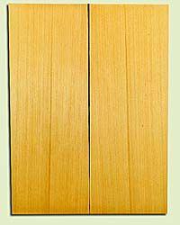 "YCUSB32334 - Alaska Yellow Cedar, Tenor or Baritone Ukulele Soundboard, Med. to Fine Grain, Excellent Color, Highly ResonantUkulele Wood, 2 panels each 0.17"" x 6"" X 16"", S1S"