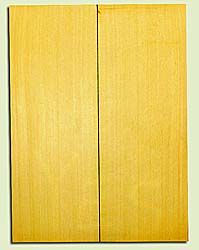 "YCUSB32340 - Alaska Yellow Cedar, Tenor or Baritone Ukulele Soundboard, Med. to Fine Grain, Excellent Color, Highly ResonantUkulele Wood, 2 panels each 0.17"" x 6"" X 16"", S1S"