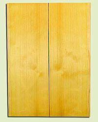 "YCUSB32342 - Alaska Yellow Cedar, Tenor or Baritone Ukulele Soundboard, Med. to Fine Grain, Excellent Color, Highly ResonantUkulele Wood, 2 panels each 0.17"" x 6"" X 16"", S1S"