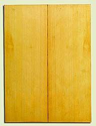 "YCUSB32345 - Alaska Yellow Cedar, Tenor or Baritone Ukulele Soundboard, Med. to Fine Grain, Excellent Color, Highly ResonantUkulele Wood, 2 panels each 0.17"" x 6"" X 16"", S1S"