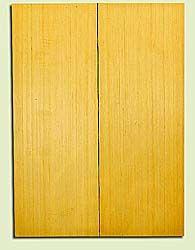 "YCUSB32348 - Alaska Yellow Cedar, Tenor or Baritone Ukulele Soundboard, Med. to Fine Grain, Excellent Color, Highly ResonantUkulele Wood, 2 panels each 0.17"" x 6"" X 16"", S1S"