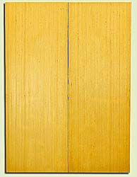 "YCUSB32349 - Alaska Yellow Cedar, Tenor or Baritone Ukulele Soundboard, Med. to Fine Grain, Excellent Color, Highly ResonantUkulele Wood, 2 panels each 0.17"" x 6"" X 16"", S1S"