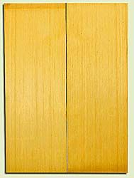 "YCUSB32351 - Alaska Yellow Cedar, Tenor or Baritone Ukulele Soundboard, Med. to Fine Grain, Excellent Color, Highly ResonantUkulele Wood, 2 panels each 0.17"" x 6"" X 16"", S1S"