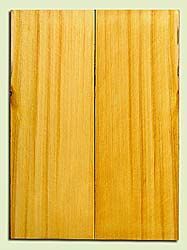 "YCUSB32355 - Alaska Yellow Cedar, Tenor or Baritone Ukulele Soundboard, Med. to Fine Grain, Excellent Color, Highly ResonantUkulele Wood, 2 panels each 0.17"" x 6"" X 16"", S1S"