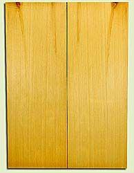 "YCUSB32357 - Alaska Yellow Cedar, Tenor or Baritone Ukulele Soundboard, Med. to Fine Grain, Excellent Color, Highly ResonantUkulele Wood, 2 panels each 0.17"" x 6"" X 16"", S1S"