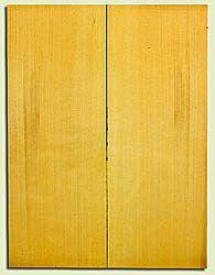 "YCUSB32359 - Alaska Yellow Cedar, Tenor or Baritone Ukulele Soundboard, Med. to Fine Grain, Excellent Color, Highly ResonantUkulele Wood, 2 panels each 0.17"" x 6"" X 16"", S1S"