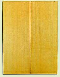"YCUSB32360 - Alaska Yellow Cedar, Tenor or Baritone Ukulele Soundboard, Med. to Fine Grain, Excellent Color, Highly ResonantUkulele Wood, 2 panels each 0.17"" x 6"" X 16"", S1S"