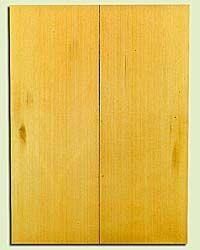 "YCUSB32362 - Alaska Yellow Cedar, Tenor or Baritone Ukulele Soundboard, Med. to Fine Grain, Excellent Color, Highly ResonantUkulele Wood, 2 panels each 0.17"" x 6"" X 16"", S1S"