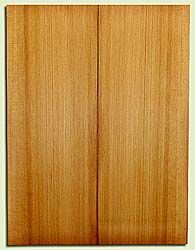 "RCUSB32413 - Western Redcedar, Tenor or Baritone Ukulele Soundboard, Med. to Fine Grain, Excellent Color, Highly Resonant Ukulele Tonewood, 2 panels each 0.17"" x 6"" X 16"", S1S"