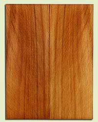 "RCUSB32419 - Western Redcedar, Tenor or Baritone Ukulele Soundboard, Med. to Fine Grain, Excellent Color, Highly Resonant Ukulele Tonewood, 2 panels each 0.17"" x 6"" X 16"", S1S"