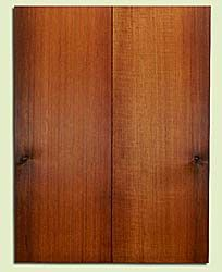 "RCUSB32431 - Western Redcedar, Tenor or Baritone Ukulele Soundboard, Med. to Fine Grain, Excellent Color, Highly Resonant Ukulele Tonewood, 2 panels each 0.17"" x 6"" X 16"", S1S"