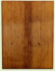 "RCUSB32443 - Western Redcedar, Tenor or Baritone Ukulele Soundboard, Med. to Fine Grain, Excellent Color, Highly Resonant Ukulele Tonewood, 2 panels each 0.17"" x 6"" X 16"", S1S"
