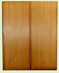 "RCUSB32458 - Western Redcedar, Tenor or Baritone Ukulele Soundboard, Med. to Fine Grain, Excellent Color, Highly Resonant Ukulele Tonewood, 2 panels each 0.17"" x 6"" X 15.25"", S1S"
