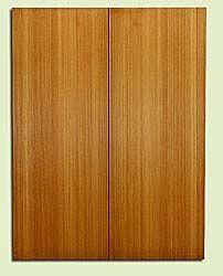 "RCUSB32465 - Western Redcedar, Tenor or Baritone Ukulele Soundboard, Med. to Fine Grain, Excellent Color, Highly ResonantUkulele Tonewood, 2 panels each 0.17"" x 6"" X 16"", S1S"