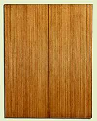 "RCUSB32466 - Western Redcedar, Tenor or Baritone Ukulele Soundboard, Med. to Fine Grain, Excellent Color, Highly ResonantUkulele Tonewood, 2 panels each 0.17"" x 6"" X 16"", S1S"
