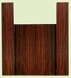 "EBUS32932 - Macassar Ebony, Baritone or Tenor Ukulele Back & Side Set, Med. to Fine Grain, Excellent Color, RareUkulele Wood, 2 panels each 0.13"" x 6.125"" X 14.75"", S2S, and 2 panels each 0.13"" x 3.5"" X 21"", S2S"