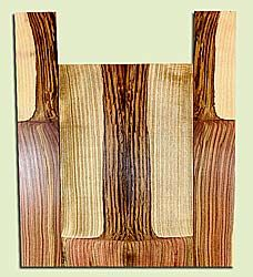 """PIUS40866 - Pistachio, Baritone Ukulele Back & Side Set, Salvaged from Commercial Grove, Excellent Color, RareUkulele Wood, 2 panels each 0.23"""" x 5.625"""" X 17.5"""", S2S, and 2 panels each 0.15"""" x 3.5"""" X 22"""", S2S"""