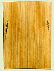 "SPUSB41242 - Sugar Pine, Tenor or Baritone Ukulele Soundboard, Fine Grain Salvaged Old Growth, Very Good Color, Rare Ukulele Wood, 2 panels each 0.17"" x 5.5"" X 16"", S2S"