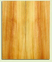 "SPUSB41269 - Sugar Pine, Tenor or Baritone Ukulele Soundboard, Fine Grain Salvaged Old Growth, Very Good Color, Rare Ukulele Wood, 2 panels each 0.17"" x 6.375"" X 15.625"", S2S"
